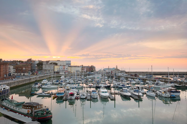 Sunrise on Ramsgate Royal Harbour