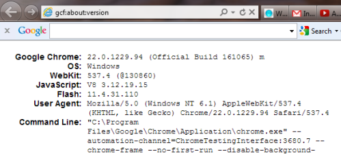 Chrome Frame, Bundled With Google Toolbar | msoftnews
