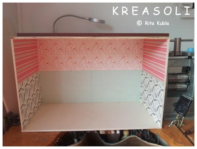 kreasoli miniaturen mein neuestes projekt. Black Bedroom Furniture Sets. Home Design Ideas