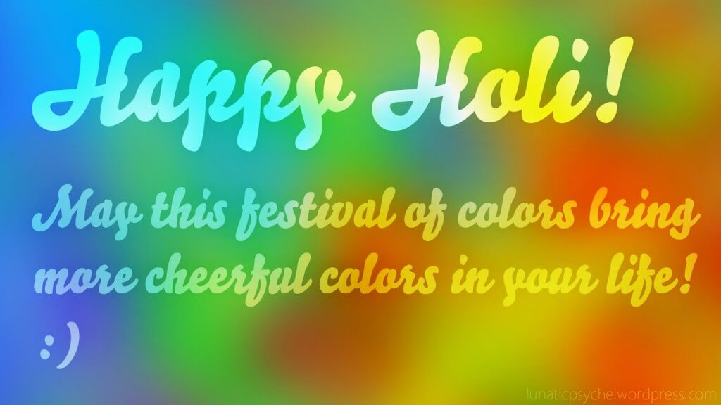 Happy Holi Wishes SMS in Tamil & Telugu Language