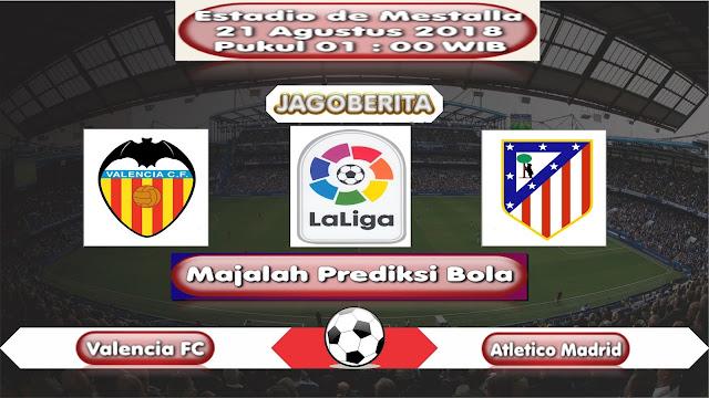 Prediksi Bola Valencia vs Atletico Madrid 21 Agustus 2018