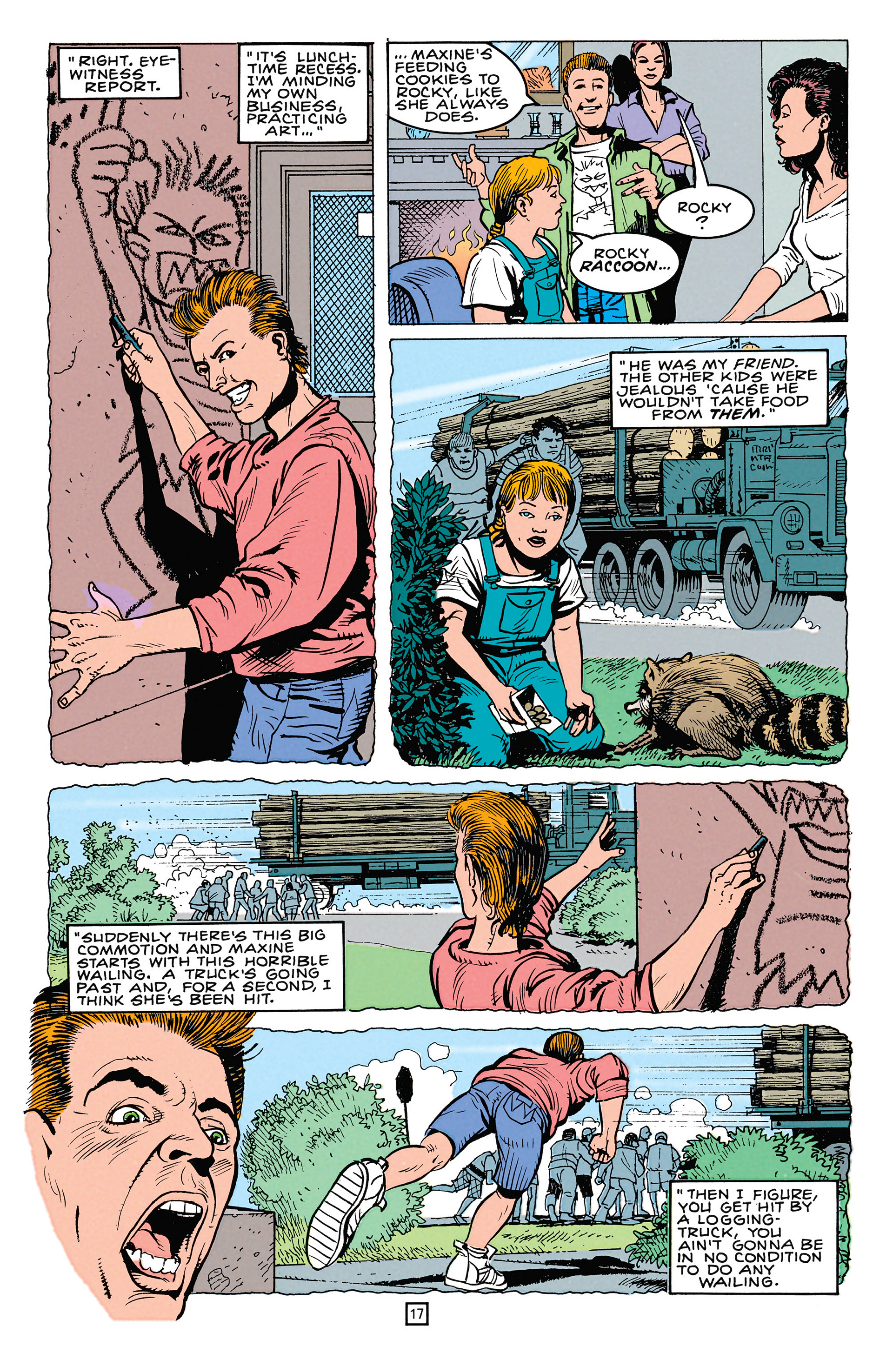 Read online Animal Man (1988) comic -  Issue #64 - 18