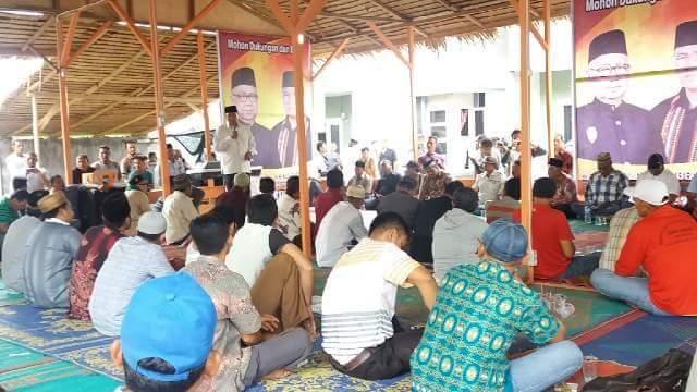 Nasaruddin Lantik Tim Pemenangan AZAN di Wilayah Tengah Aceh