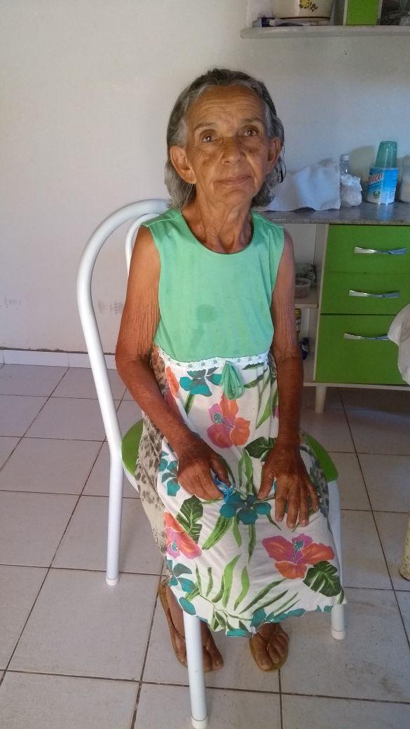 Dona Angélica Moura, falece aos 78 anos em Elesbão Veloso