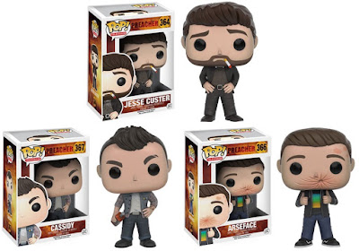 Preacher Pop! Television Series Vinyl Figures by Funko - Jesse Custer, Cassidy & Arseface