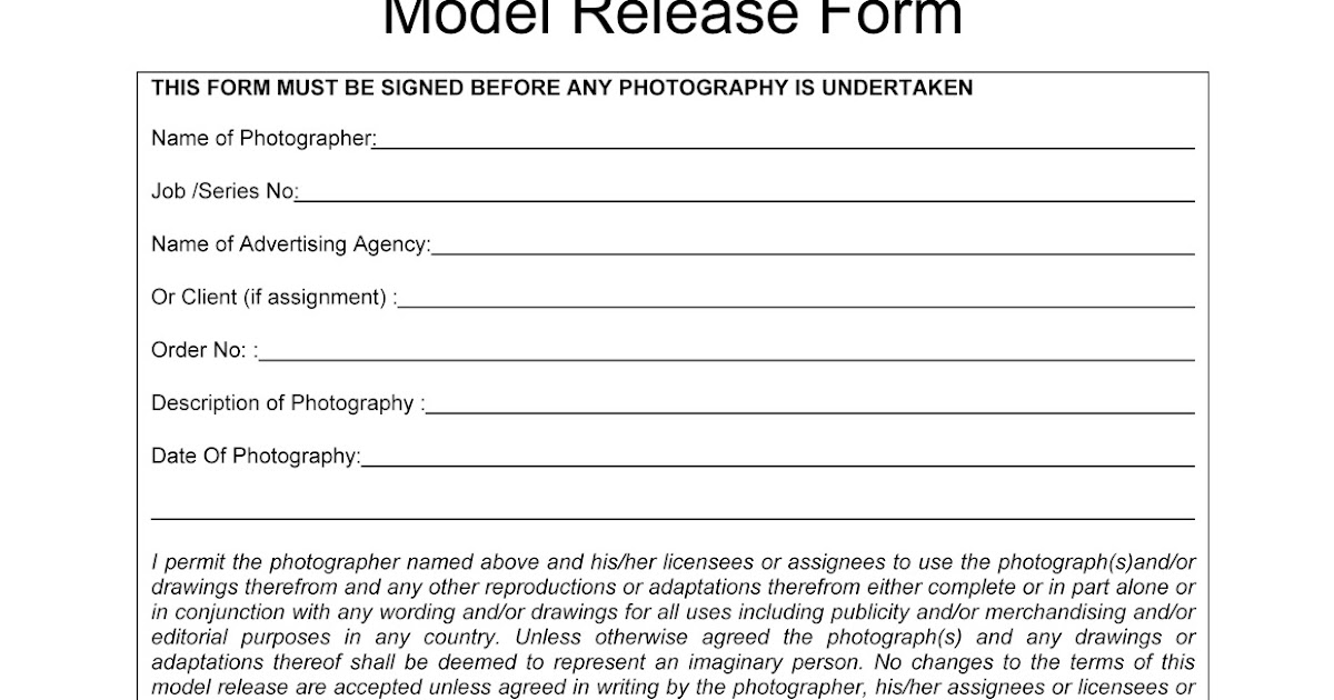 Property Release Form Interview Release Form Template Interview - Location Release Form