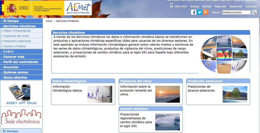 http://www.aemet.es/es/serviciosclimaticos