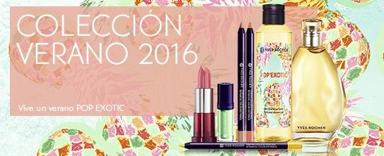 Novedades Yves Rocher: colección verano 2016 'Pop Exotic'