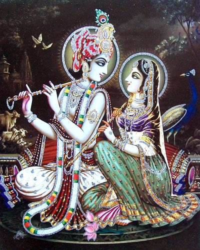 Krishna Radha Wallpaper