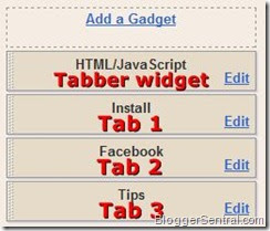 How to add feeling lucky widget to blogger