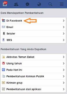 Cara Menonaktifkan Pemberitahuan Komentar dan Like Facebook
