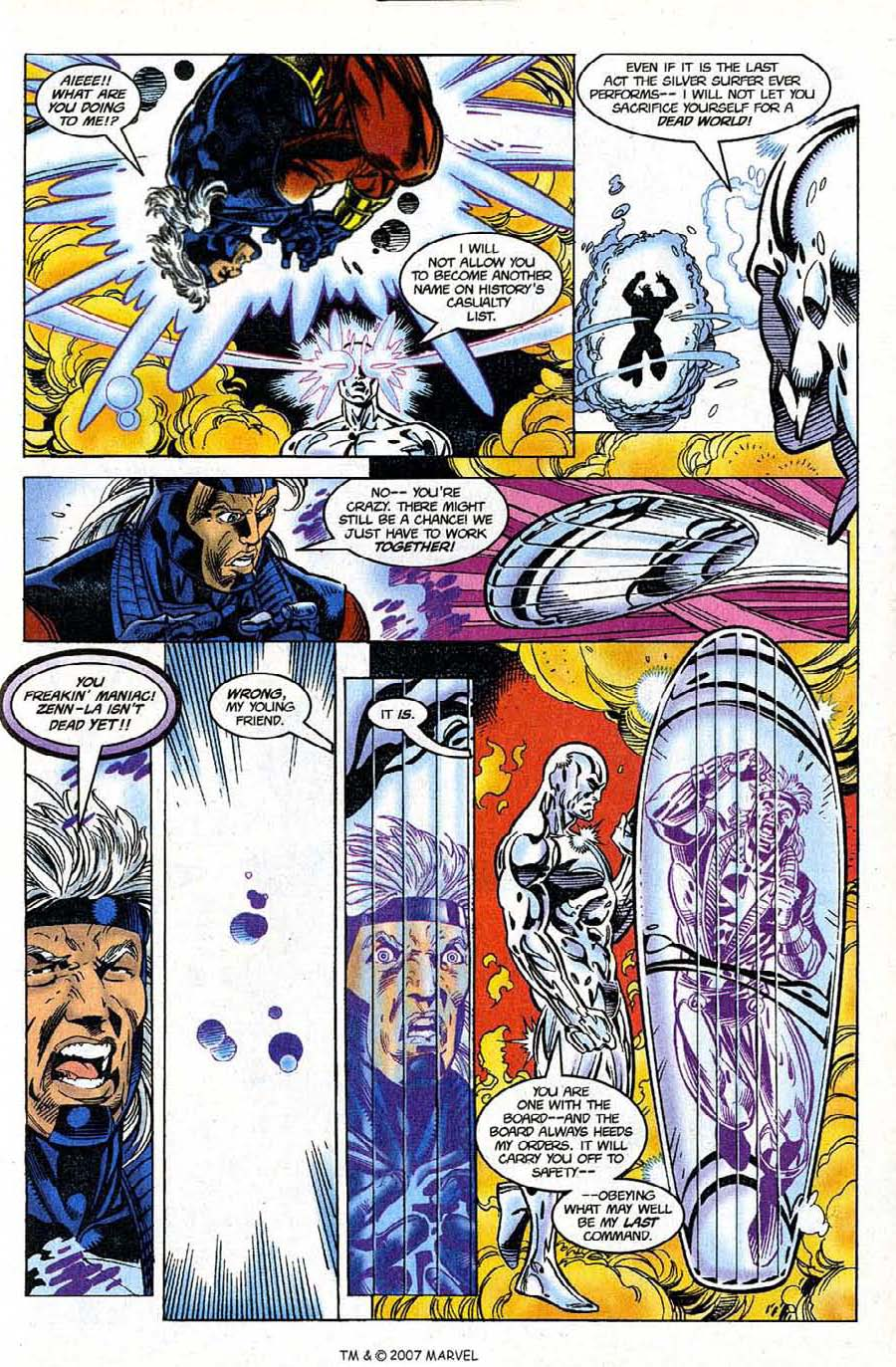 Silver Surfer (1987) Issue #122 #130 - English 23