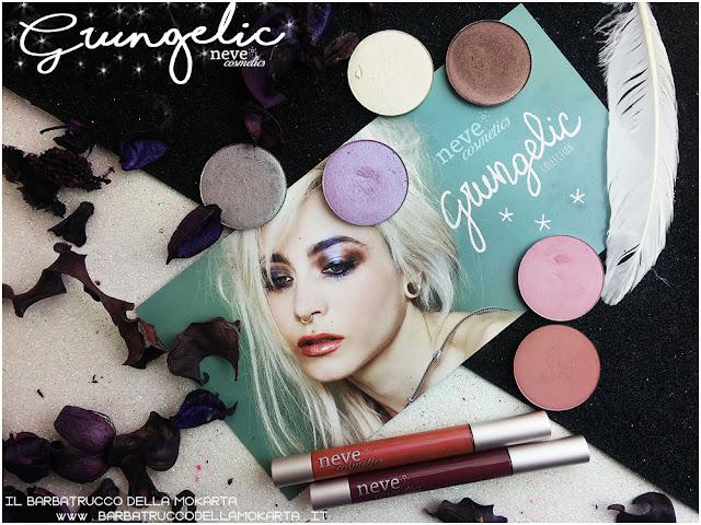Grungelic collection Neve cosmetics  review recensione, pareri, makeup, consigli, comparazioni