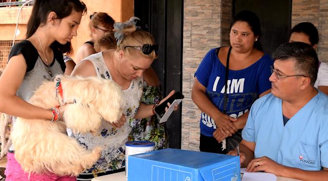 El IMuSA realizó un nuevo operativo de castración y vacunación de mascotas en la Chacra 150