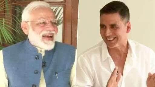 Akshay Kumar interview with PM Narendra Modi