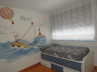 Fotos de cortinas dormitorio juvenil 2012 for Decoracion habitacion bebe leroy merlin