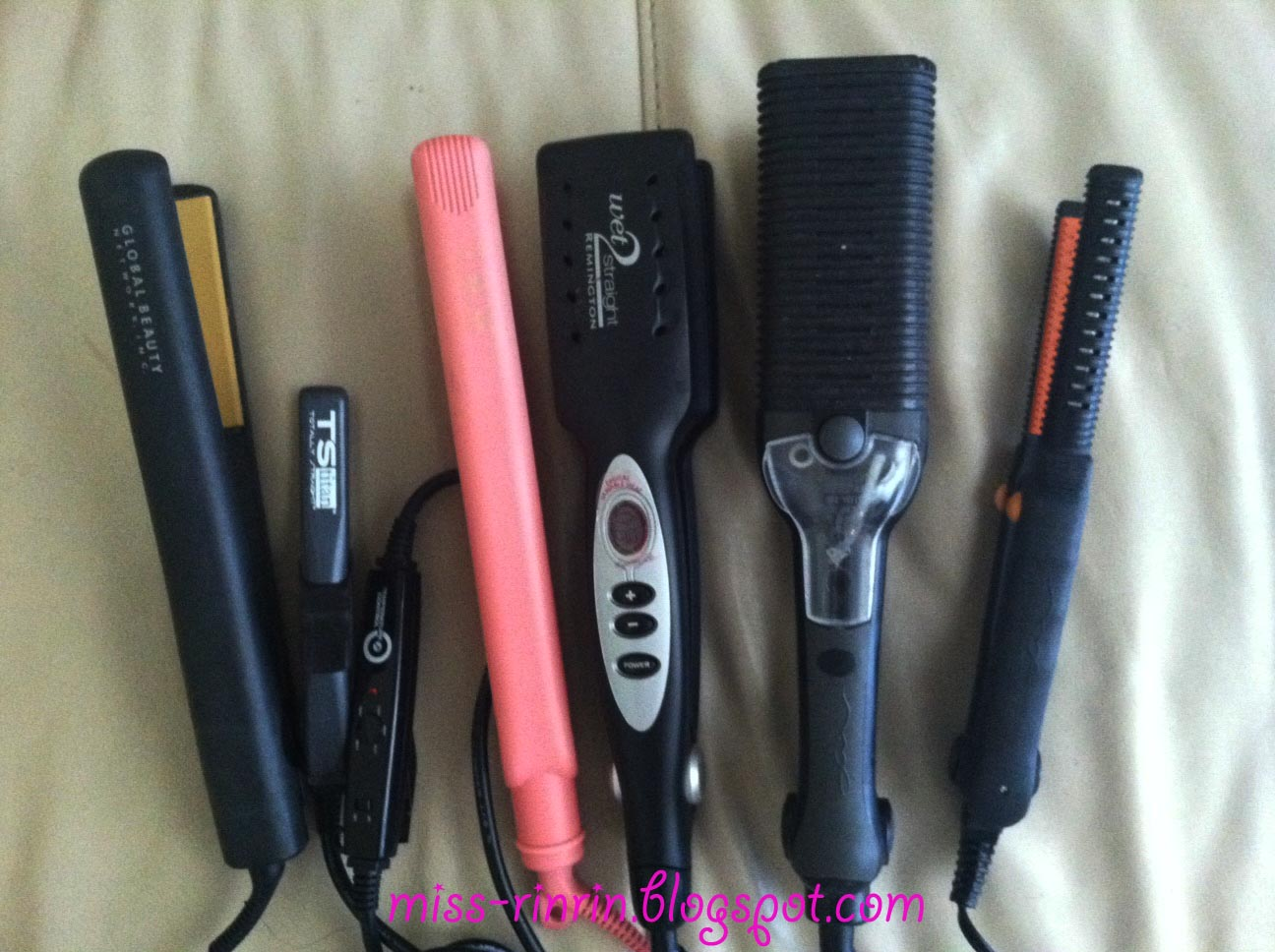 My Flat Irons Collection And Review On Chi Ts An Iso Remington Maxiglide