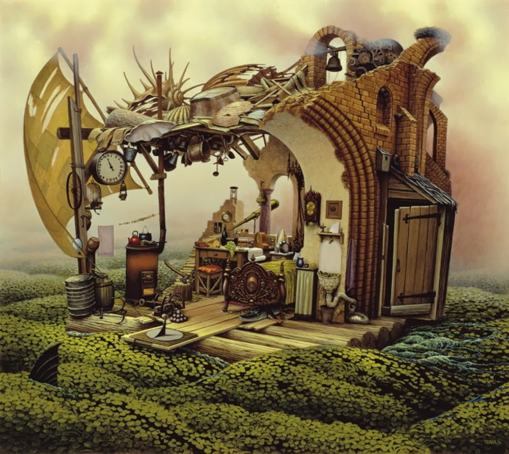 17-Jacek-Yerka-Surreal-Dream-Paintings-www-designstack-co