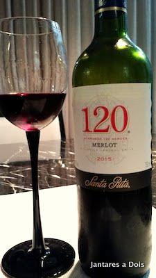 Foto do vinho 120 da vinícola Santa Rita