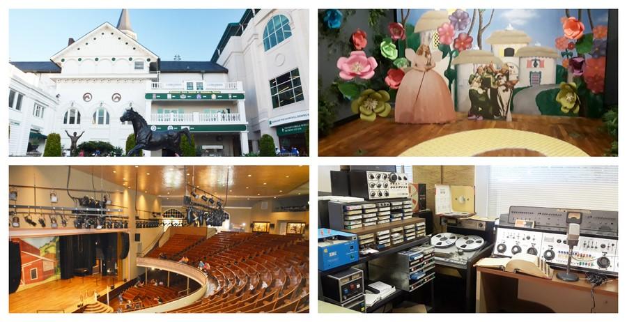 Sud des Etats-Unis, des anciens studios de musique au Kentucky Derby