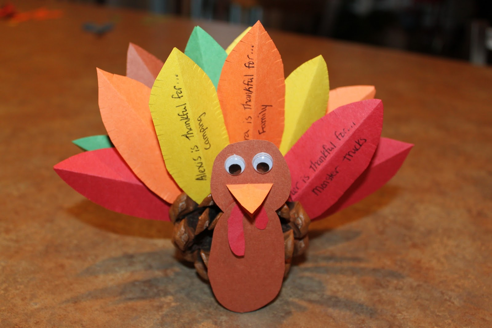 It's Fun 4 Me!: Thanksgiving: Thankful Turkey Hostess Gift
