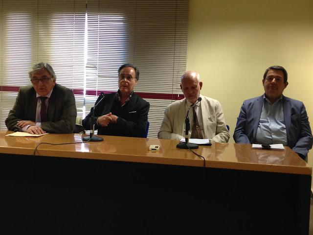 Fotografía de la presentación del  Aula Sociosanitaria