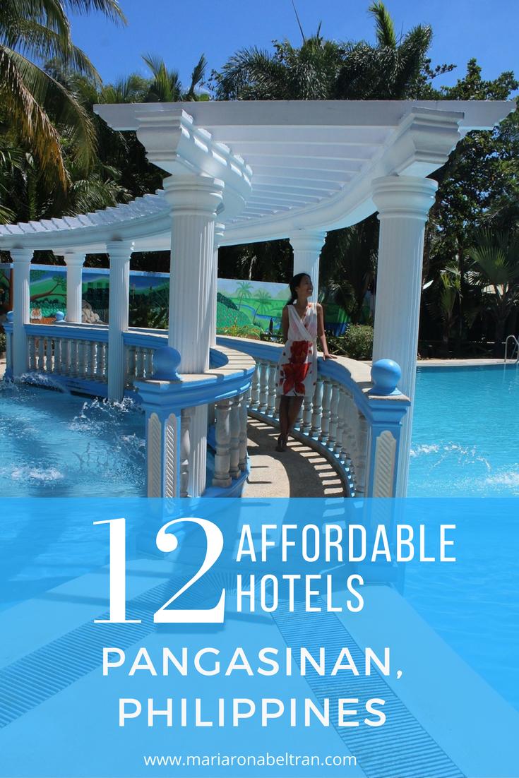 cheap hotels in pangasinan
