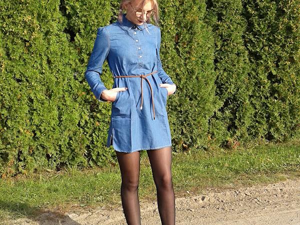 OOTD SU ROSEGAL: LITTLE DENIM DRESS