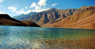 Chandra Tal meaning the Lake of Moon is situated at an altitude of 4270m in the Himalayan region of Lahaul and Spiti. Situated mostly in the part of Spiti.