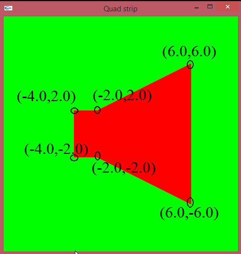 C++ openGL #09: Draw Quads Strip ~ Take a new steps in