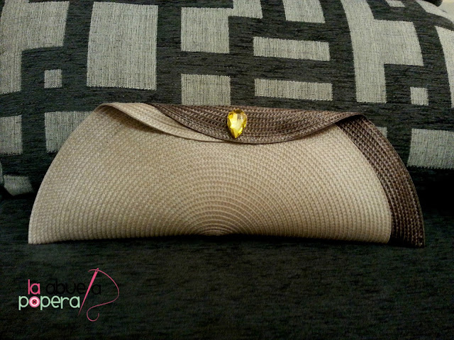 La abuela popera bolsos tipo clutch con manteles individuales - Tipos de manteles ...