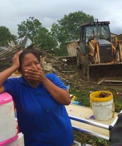 Gobierno desaloja Isla Trinitaria