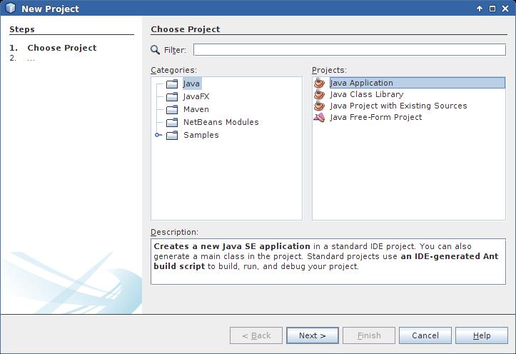 Hello World: OpenCV Java Sample with Netbeans