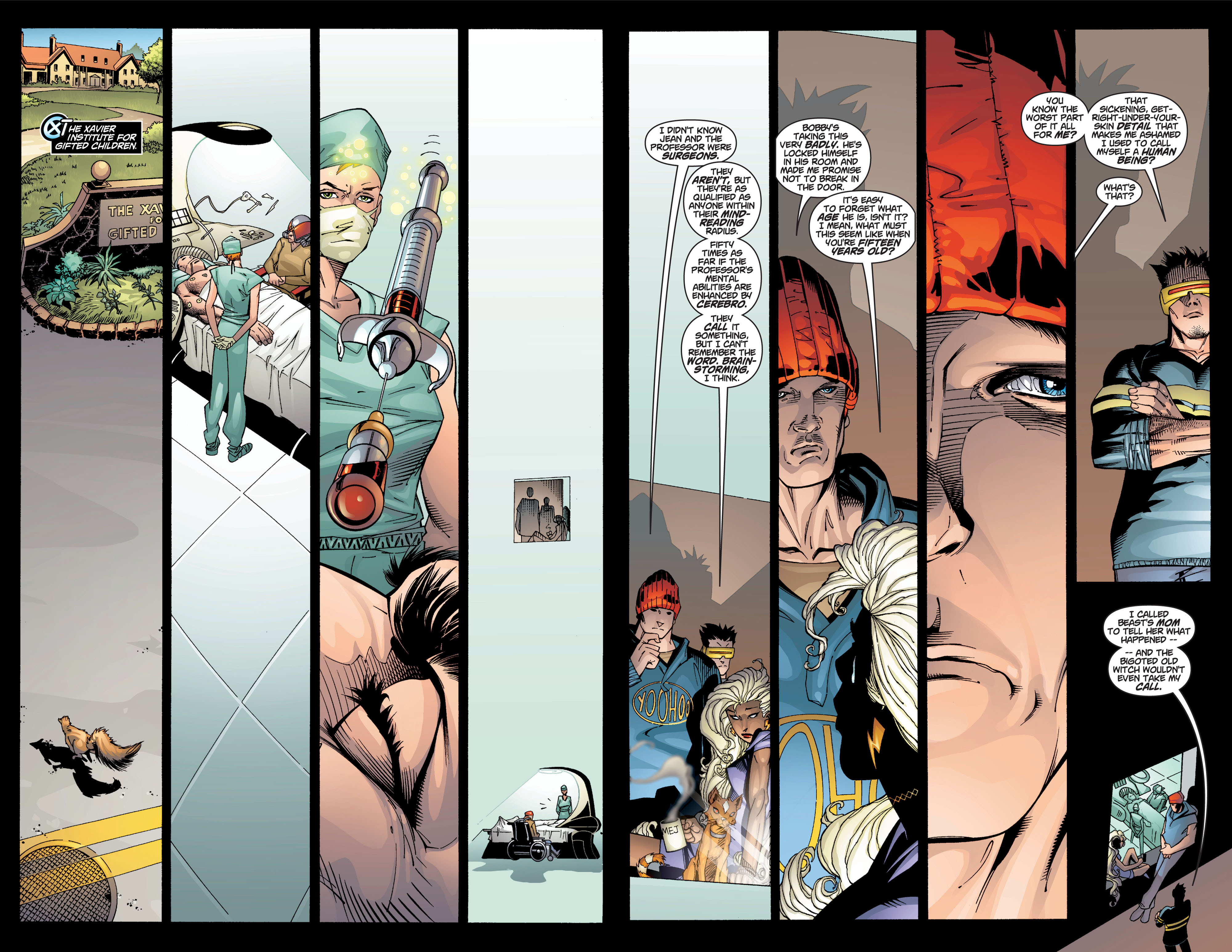 Read online Ultimate X-Men comic -  Issue #4 - 10