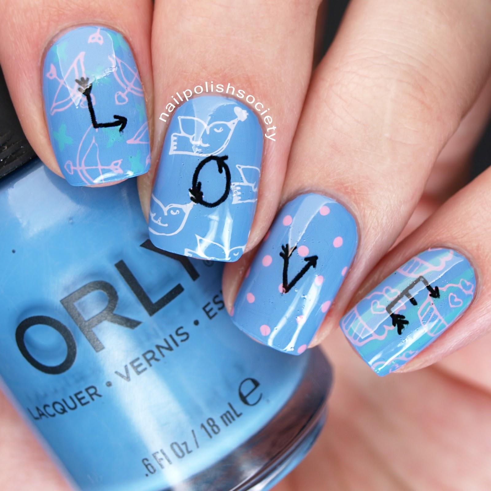 Nail polish society 40 great nail art ideas love 40 great nail art ideas love prinsesfo Choice Image