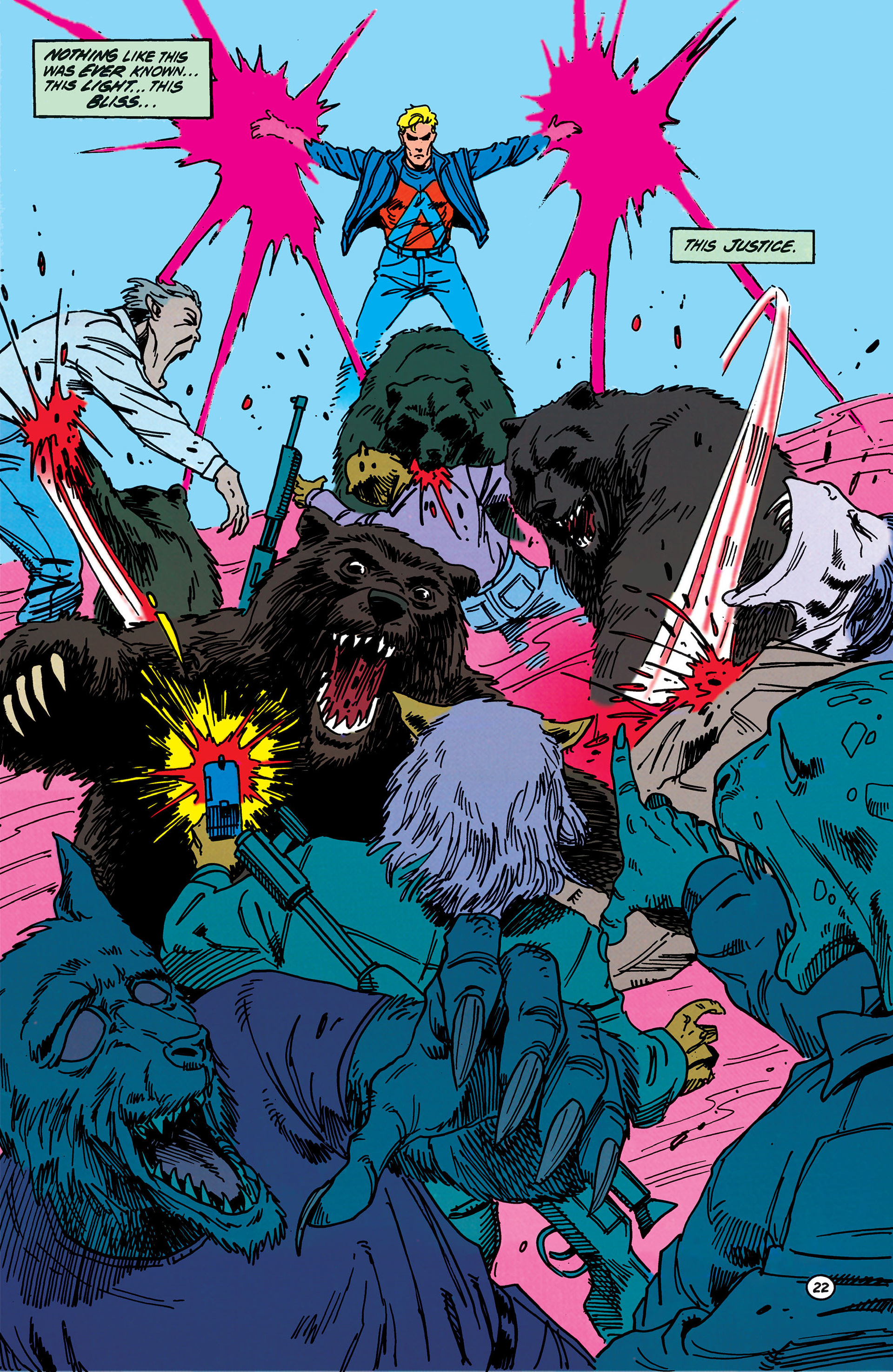 Read online Animal Man (1988) comic -  Issue #40 - 23