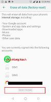 How to reset Asus Zenfone Max Pro M2