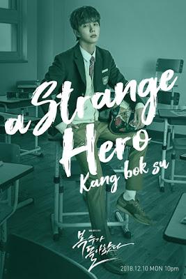 yakni salah satu drama Korea yang cukup terkenal di Indonesia Biodata Foto Pemain Drama My Strange Hero