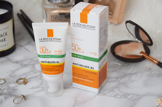 REVIEW: ANTHELIOS XL ANTI-SHINE NON PERFUMED DRY TOUCH GEL CREAM SPF50, LA ROCHE POSAY | DianeduSoleil