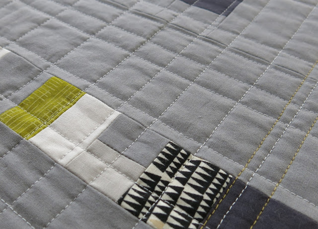 Sherri Lynn Wood - Improv' Handbook Score #2 - Quilting in progress