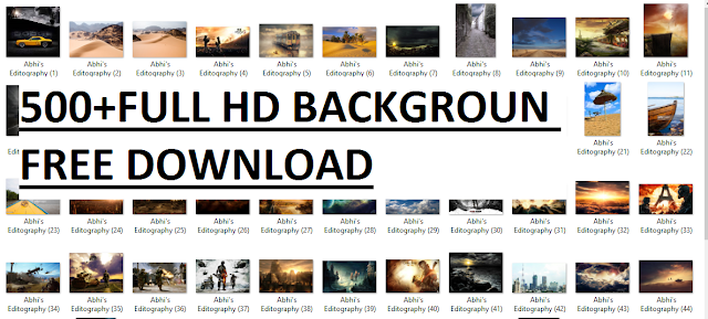 500+ FULL HD BACKGROUND FREE DOWNLOAD
