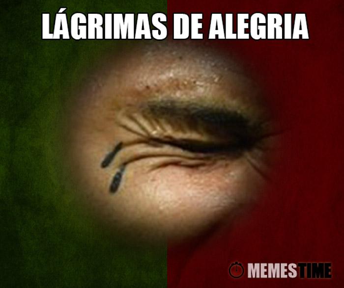 Meme Lágrima de Quaresma – Lágrimas de Alegria!