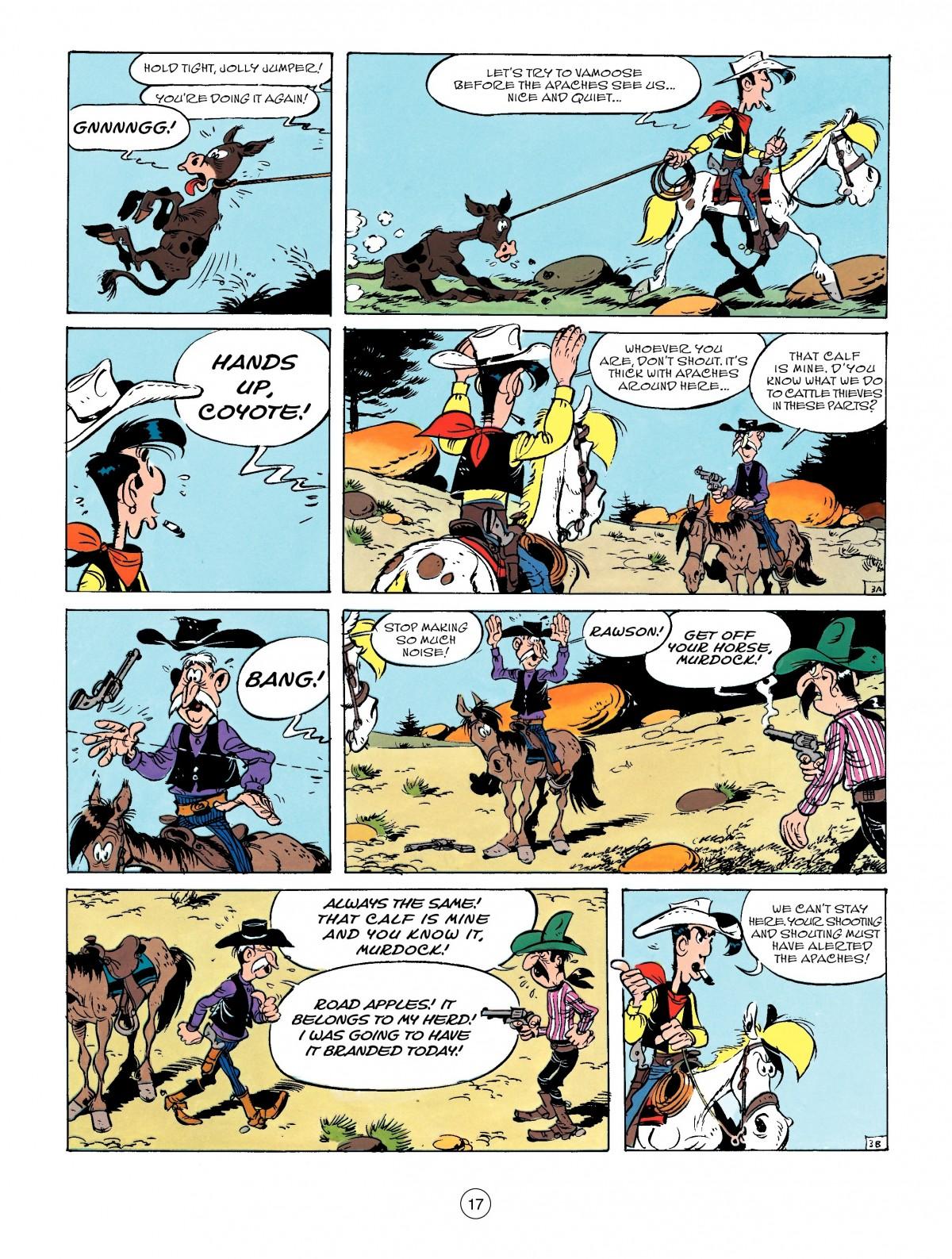 Read online A Lucky Luke Adventure comic -  Issue #50 - 17