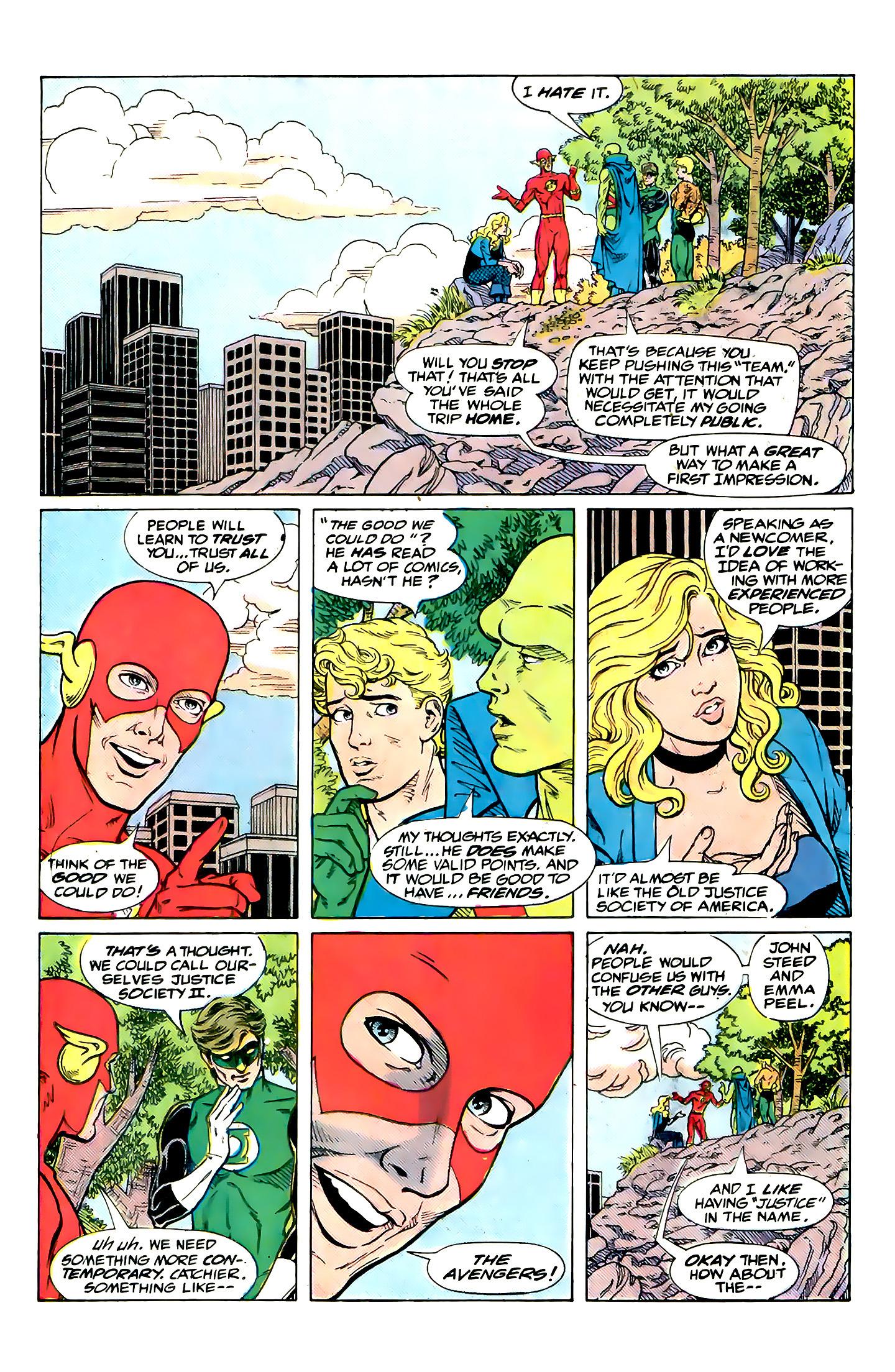 Read online Secret Origins (1986) comic -  Issue #32 - 38