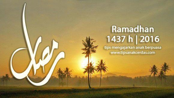 Syarat, Rukun, Dan Yang Membatalkan Puasa Ramadhan Untuk Anak