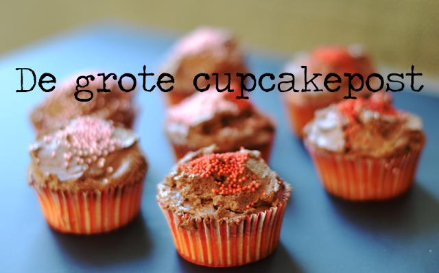 De grote cupcake-post