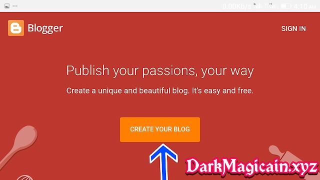 Blogger Course:
