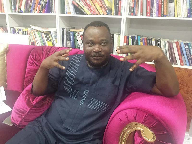 See reply Jimoh Ibrahim gave Twitter lady who requested he should be her sugar day