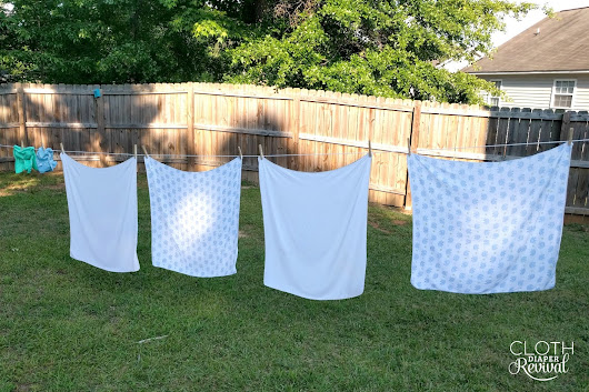 7th Annual Flats and Handwashing Challenge - Day 4: Handwashing Flat Diapers #flatschallenge